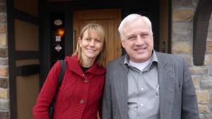 Kim Corbett with Dr. Gary L. Seevers PhD., President of Global University