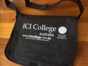 ICI College Student satchel