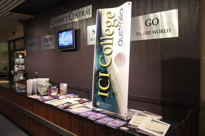 Our staff travel Australia presenting at Pastors Conferences the benefits of studying by Distance with ICI College Australia
