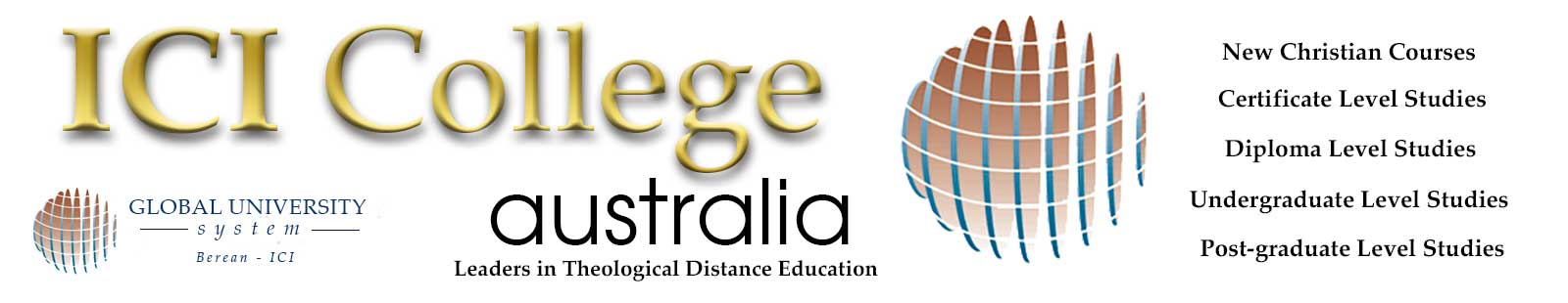 ICI Theological College Australia - leaders in Distance